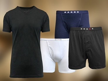 Galaxy by Harvic Underwear and Shirts