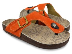 MUK LUKS® Women's Thong Terra Turf, Orange