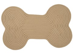 Sand Dog Bone Solid Rug - 3 Sizes