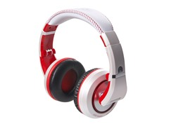 The Sessions Headphones - White/Red
