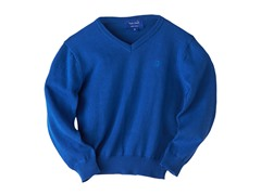 V-Neck Sweater - Blue (3T-7)
