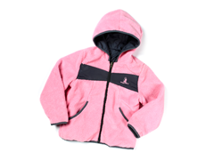 Pink Reversible Sherpa Jacket