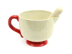 Ceramic  Batter Bowl & Whisk