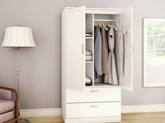 Acapella Wardrobe Armoire (3 Colors)