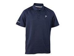 HEAD Men's Net Performance Polo, Navy, L