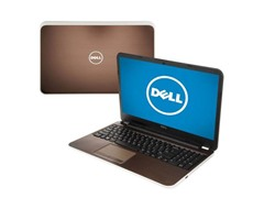 "Dell 15.6"" AMD Quad-Core Laptop - Bronze"