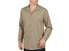 Long Sleeve, Two Pocket - Khaki