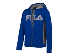 Competition Full Zip Hoody - Blue/Grey