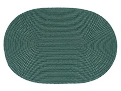 Myrtle Green Braided-Texture Rugs