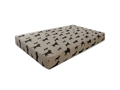 OrthoLuxe Gel Memory Foam Pet Mattress- Small