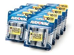 D Alkaline Batteries - 18 Pack