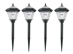 4-Piece Adonia Solar Pathlight Set