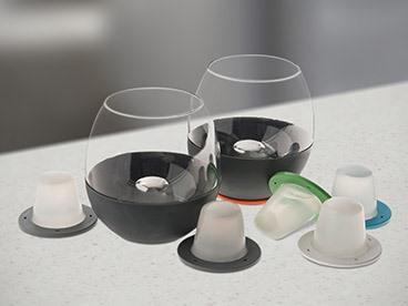 Soiree Home Dimple Wine Bundle