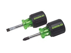 Stubby Screwdriver Set, 2 Piece