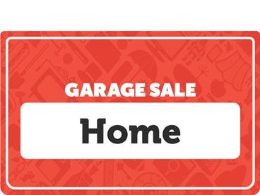 Home Garage Sale