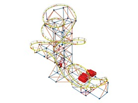 K'NEX Supernova Blast Coaster Building Set