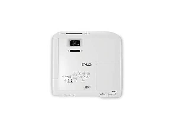 Image of Epson Powerlite 2247u Wireless Projector