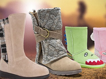 MUK LUKS Women's and Kid's Boots and Slippers