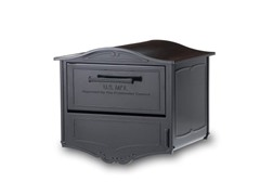 Locking Geneva Mailbox, Black