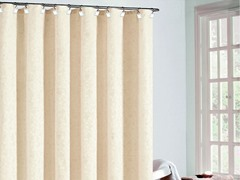Trevi Fabric Shower Curtain-2 Colors