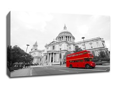London Bus, St. Paul's Cathedral