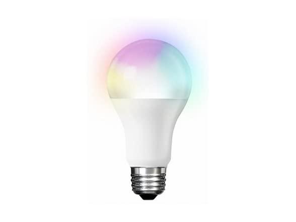Feit Smart Wifi Color A19 Light Bulb on sale