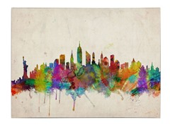 New York Skyline Canvas Art