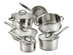 T-fal Ultimate Stainless 10-Pc Cookware