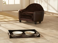 Feeding Platter - Brown Pebble