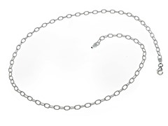 Sterling Silver Filo Chain Necklace