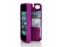 iPhone 4/4S Case w/Hinged Back - Purple