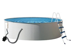 Metal Wall Swimming Pool, 24' x 52""