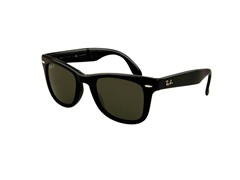 Polarized Folding Wayfarer Sunglasses