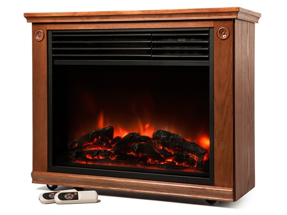 Lifesmart Infrared Fireplace 1 800 Sq Ft Heater