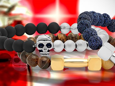 Beaded Bracelets for Men and Women