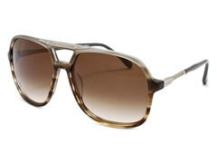 Chloe CL2223 Brown Horn-Gray/Brown
