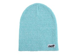 Optic Heather Beanie - White/Turquoise