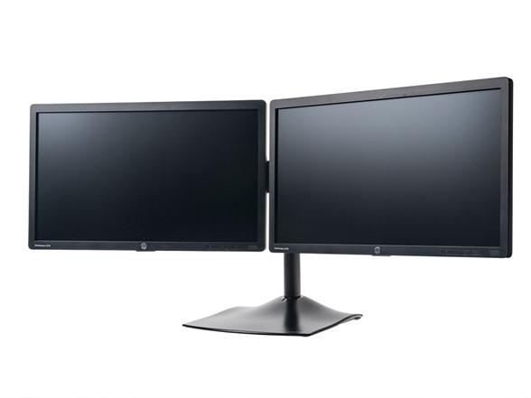 Hp Elitedisplay Monitors With Ds100 Dual Monitor Display