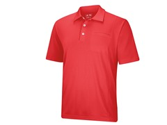 ClimaLite Pocket Polo - Bright Coral