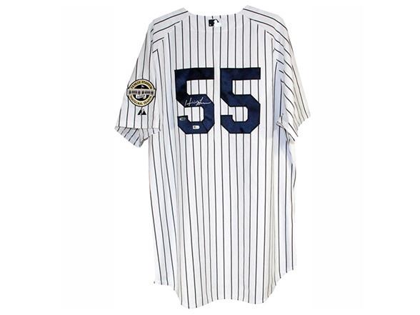 Hideki Matsui Signed Yankees Jersey 0abb28478a8