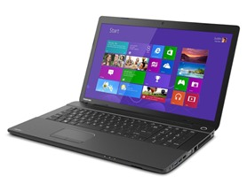 "Toshiba Satellite 17.3"" AMD Quad-Core Laptop"