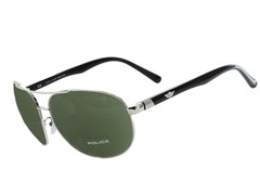Police Men's Aviator Sunglasses
