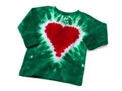 Baby Long Sleeve Tee - Heart