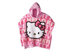 Hello Kitty Hooded Poncho - Toddler