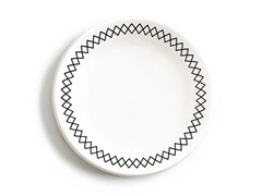 "K by Keaton Salad Plate 8.5"" White Set of 4"