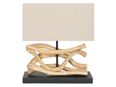 Sculptured Bleached Lamp