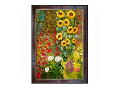 Klimt - Farm Garden with Sunflowers