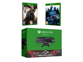 Microsoft Xbox One Bundle w/Three Games