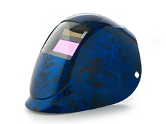 Python Blue Fusion with 1000F Filter Welding Helmet