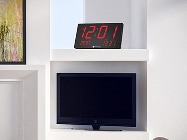 Avalon Oversized LED Wall/Desk Clock